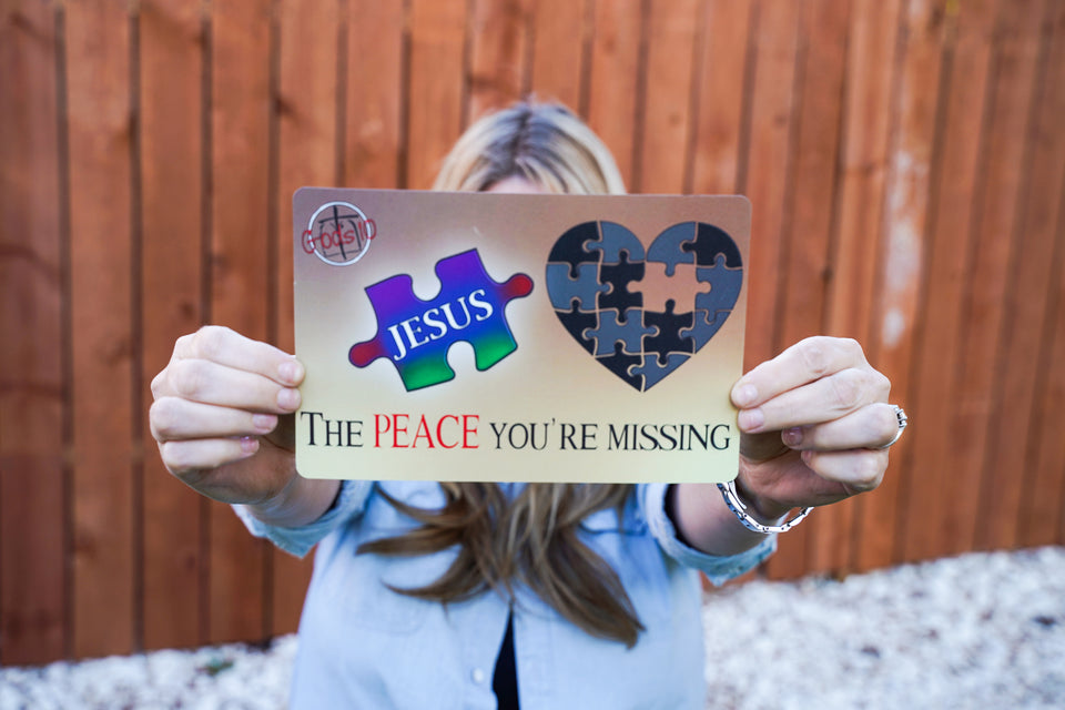 Peace You're Missing and Jesus Dark BUNDLE (LIMIT 5 PER PERSON)