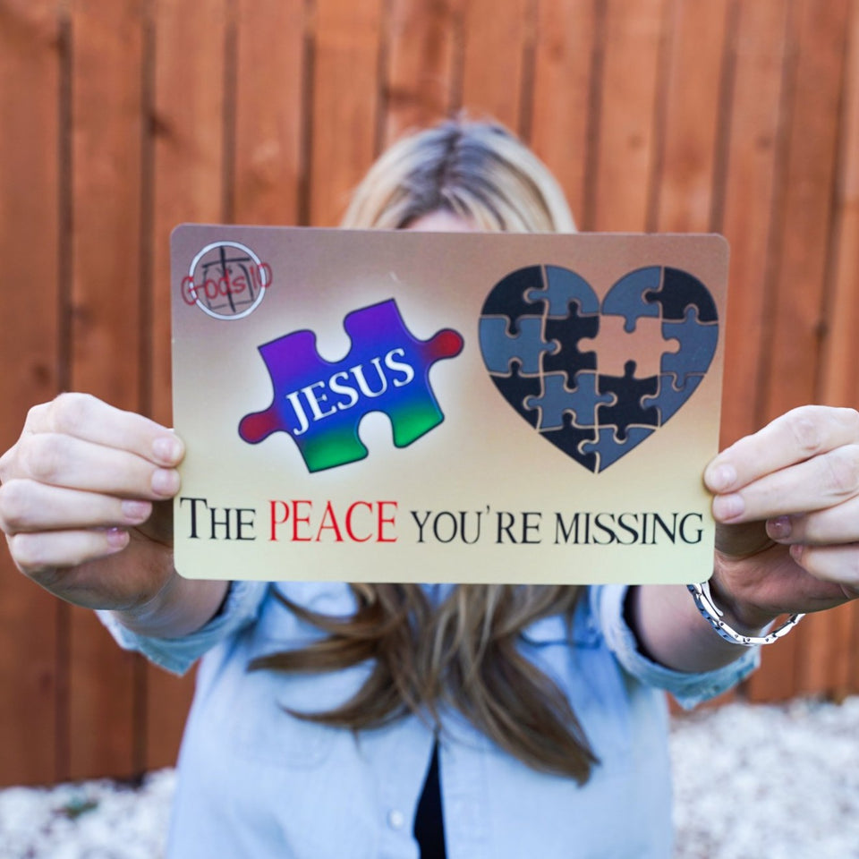 The Peace You're Missing - Small Magnet