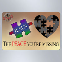 The Peace You're Missing - Large Magnet