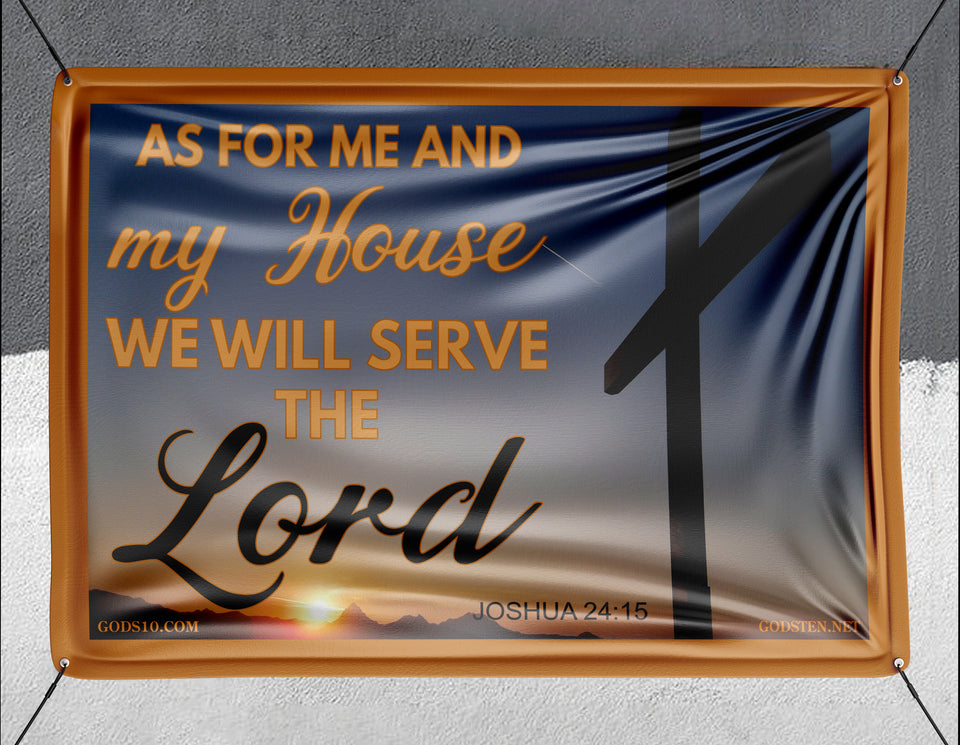 As For Me And My House - Banner