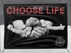 Choose Life With Baby - Banner