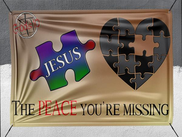 The Peace You're Missing - Banner