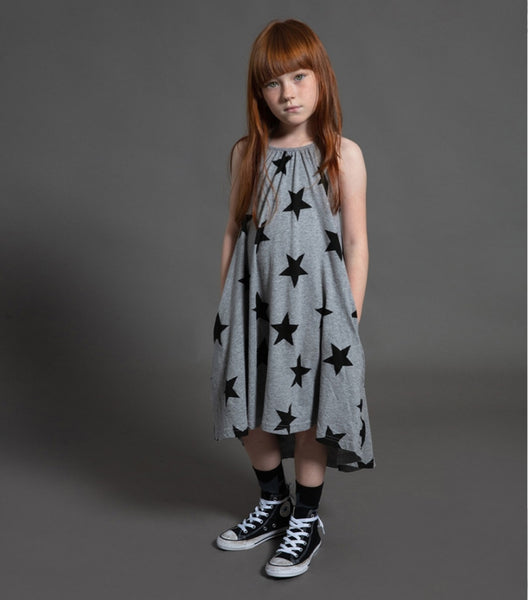 Star collar dress Nununu