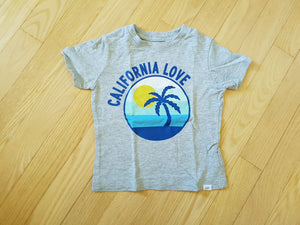 Tshirt gris california Gap 2 ans GG514
