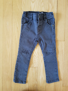 Jeans charcoal Next 12-18 mois CG407