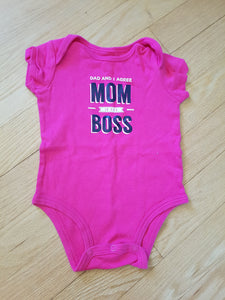 Cache-couche rose Mom boss Carter's 6 mois CC779