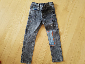 Jeans patch Next 3-4 ans JLE9