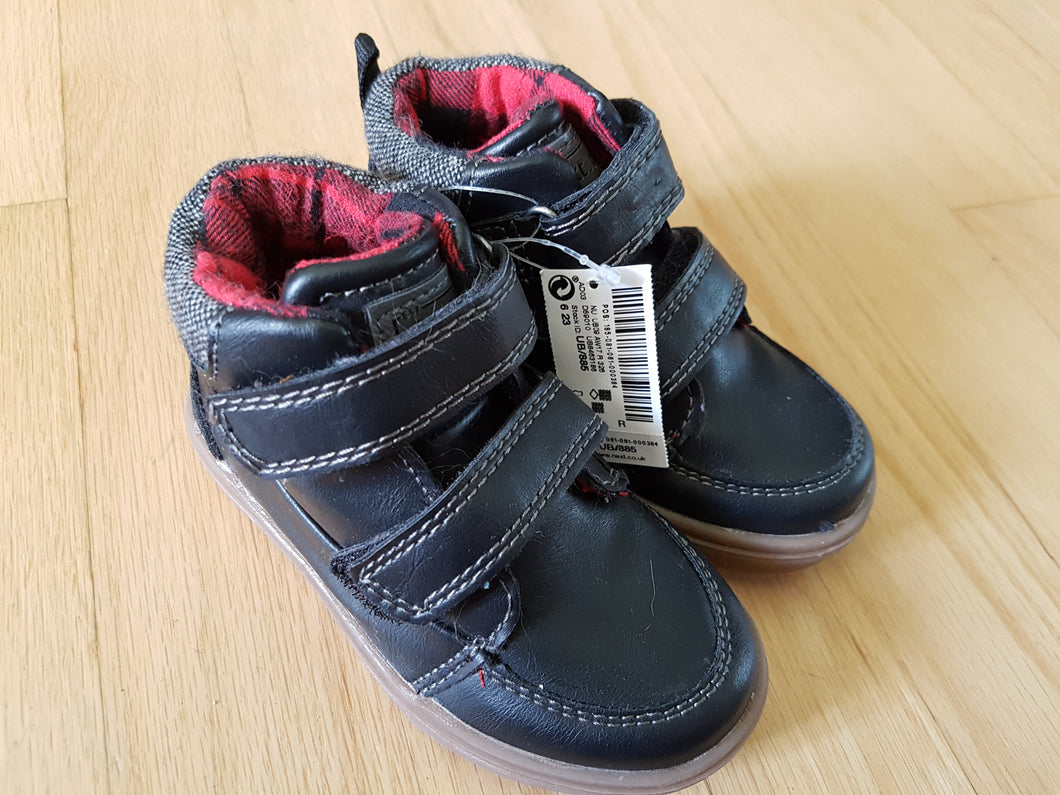 Chaussures noires Next 6UK neuf JLE119