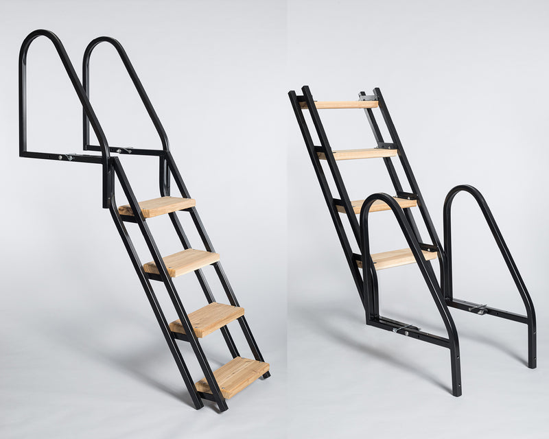 Folding Boomer Ladder - 4 or 5 Step