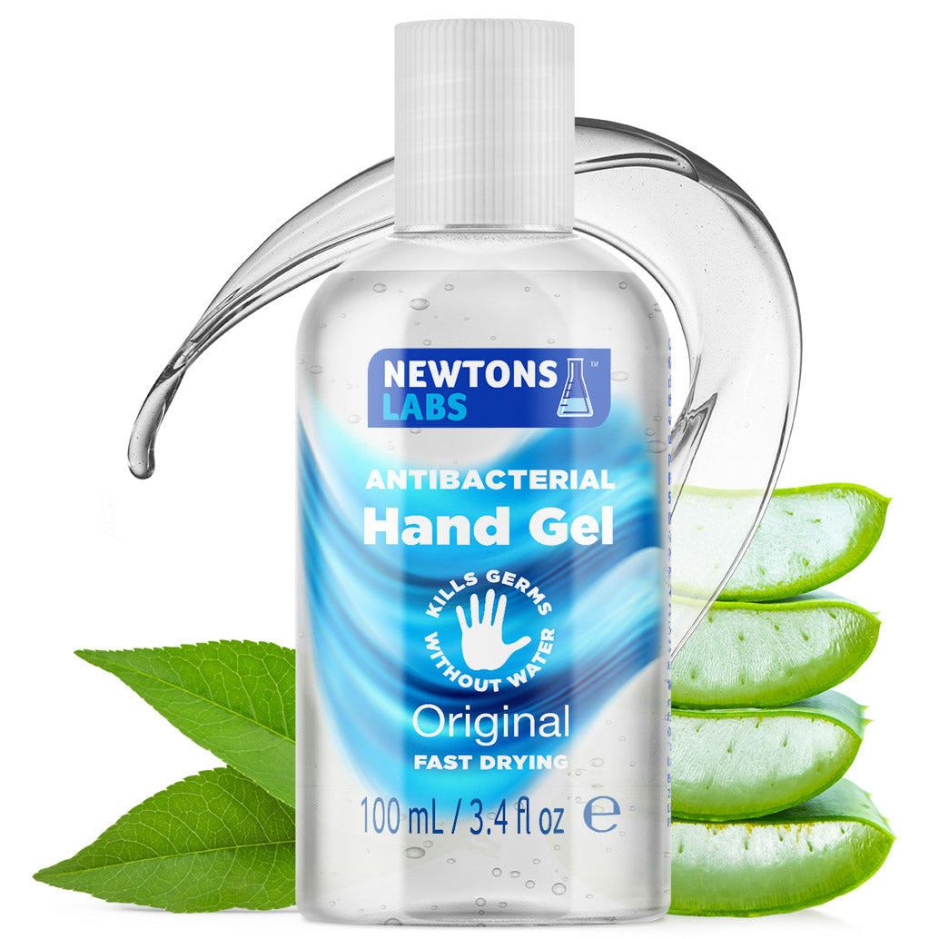 100 Bottles - Antibacterial Hand Gel Sanitiser - 100ml