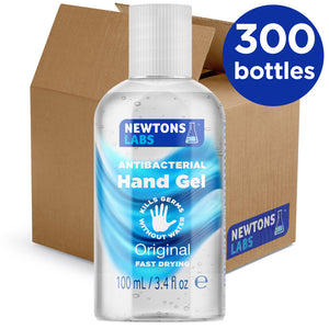 300 Bottles - Antibacterial Hand Sanitiser - 100ml