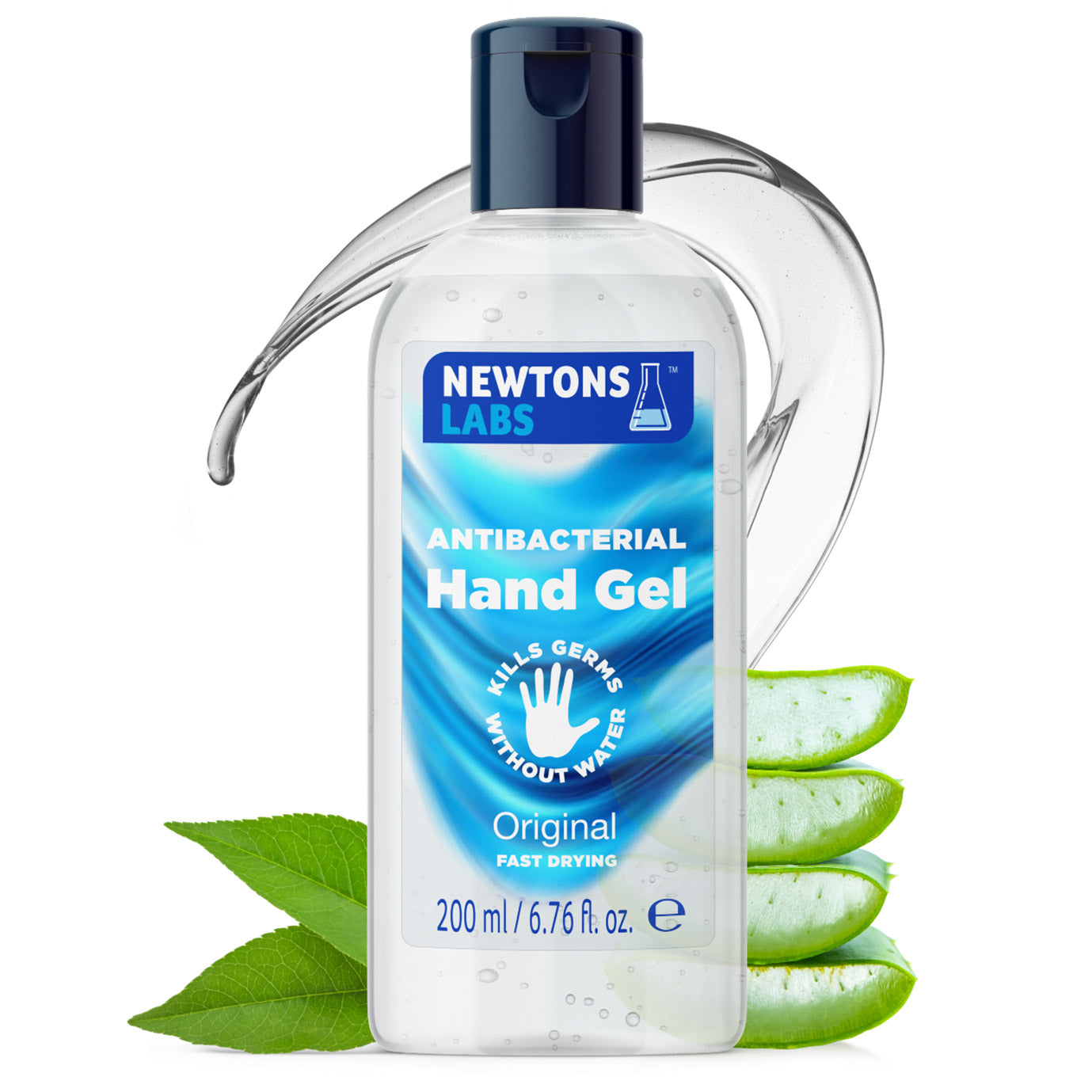 24 Bottles - Antibacterial Hand Gel & Sanitiser - 200ml