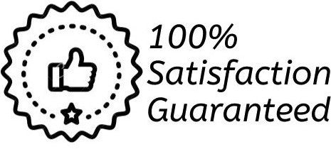 Says 100% Satisfaction Guaranteed