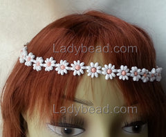 Flower Crown Pink Pearl