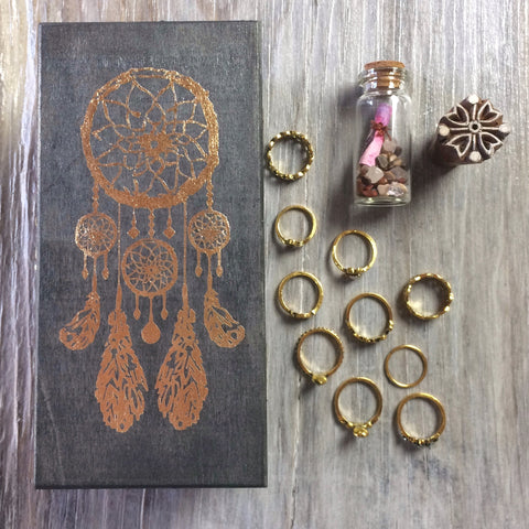 Dreamy Dreamcatcher Treasure Box