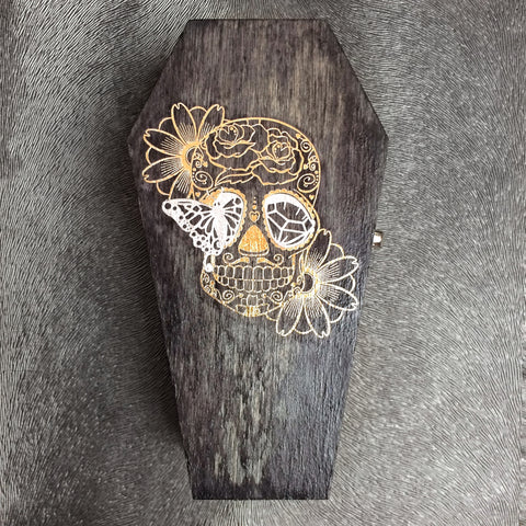 Sugar Skull Treasure Box