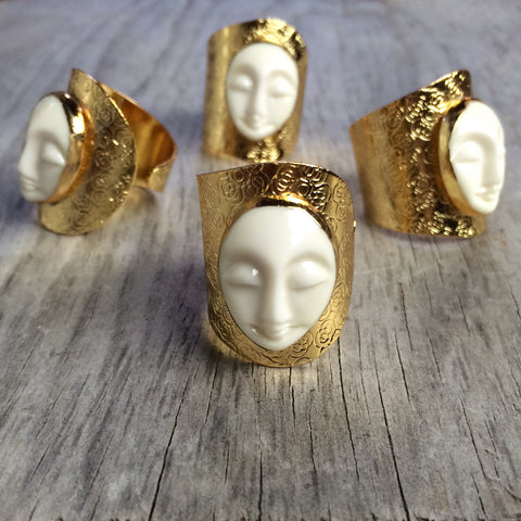 Blissful Buddha Finger Cuff