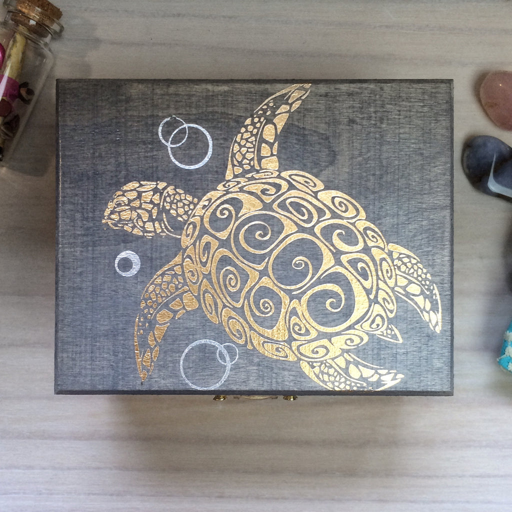 Sea Goddess Treasure Box