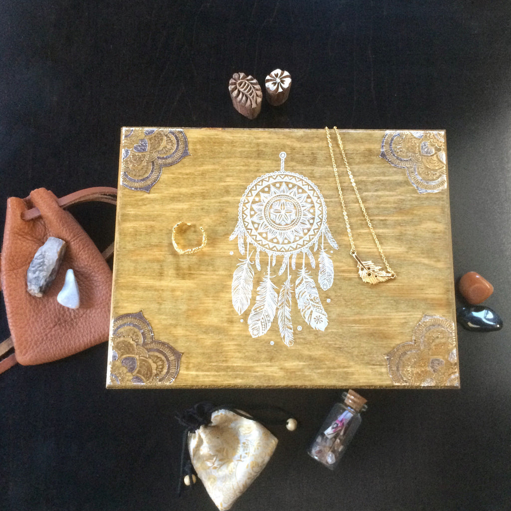 Dreamcatcher Treasure Box