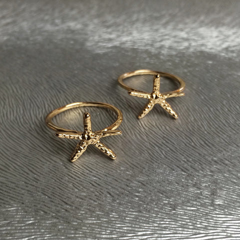 Delicate Starfish Ring