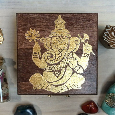 Ganesha Treasure Box