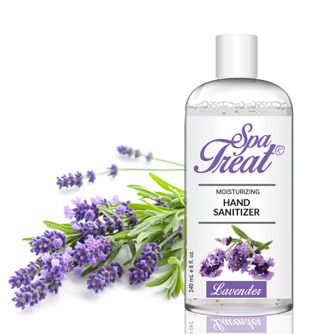 Spa Treat Organic Hand Sanitizer - Lavender