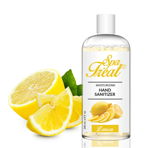 Spa Treat Organic Hand Sanitizer - Lemon