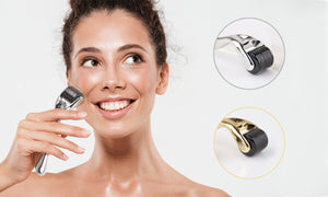 woman-microneedling-on-face