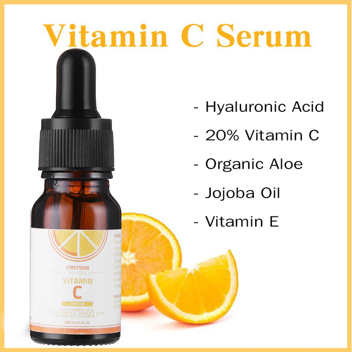Premium Vitamin C & Hyaluronic Acid Serum