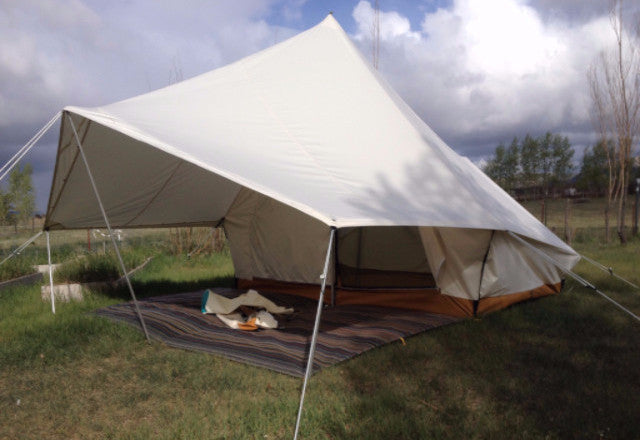 Split Torrent Tent Ellis Canvas Tents