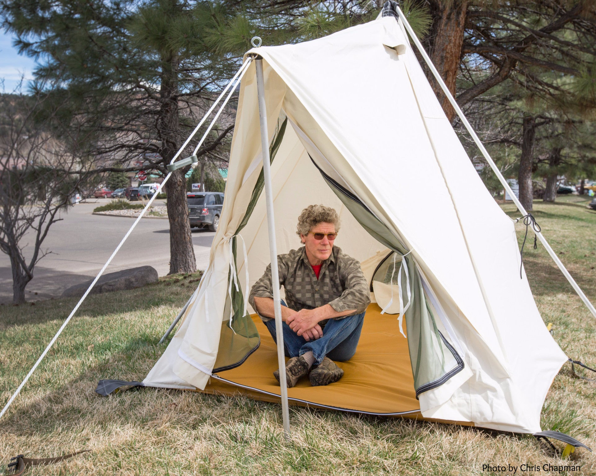 Two Person Prairie Tent  The Canoe Tent   sc 1 st  Ellis Canvas Tents : canoe tents - memphite.com