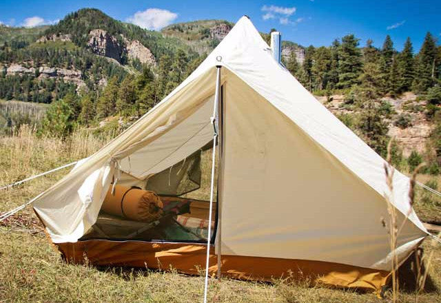 ... Torrent Tent with Stove Jack and Stove Pipe ... & Torrent / Split Torrent / Shackleton Stove Jack - Ellis Canvas Tents