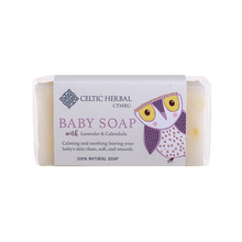 Load image into Gallery viewer, Celtic Herbal - Baby Soap with Lavender & Calendula - Lavender & Calendula essential oils are anti inflammatory, antibacterial, antiseptic