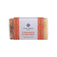 Load image into Gallery viewer, Celtic Herbal - Cinnamon & Orange Soap 100g
