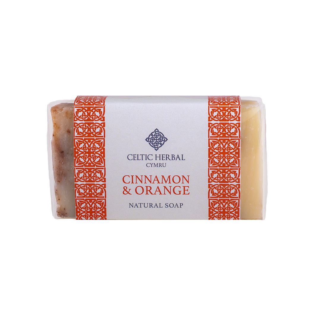 Celtic Herbal - Cinnamon & Orange Soap 100g