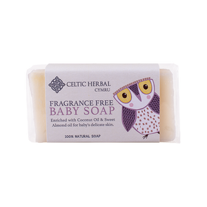Celtic Herbal - Fragrance Free Baby Soap 100g