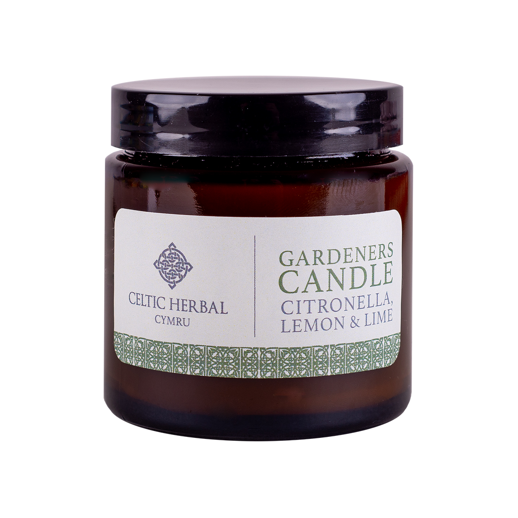 Celtic Herbal - Gardeners Citronella Candle 100g