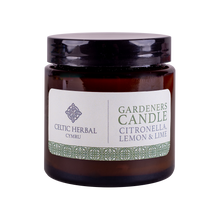 Load image into Gallery viewer, Celtic Herbal - Gardeners Citronella Natural Soy Candle 100g
