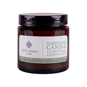 Celtic Herbal - Gardeners Citronella Natural Soy Candle 100g