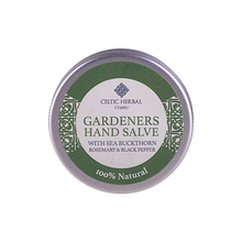 Load image into Gallery viewer, Celtic Herbal - Gardeners Hand Salve with Sea Buckthorn, Rosemary & Black Pepper 25g