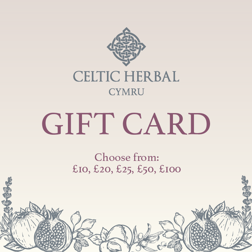 Celtic Herbal - Gift Card, Gift voucher, evoucher