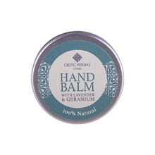 Load image into Gallery viewer, Celtic Herbal - Hand Balm with Lavender & Geranium 25g