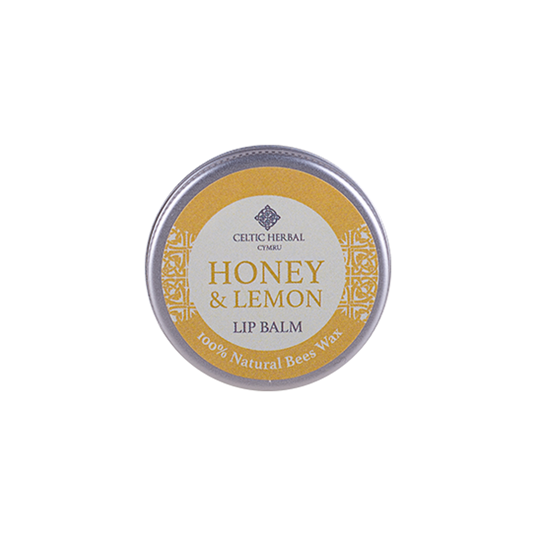 Celtic Herbal - Honey & Lemon Lip Balm 15g