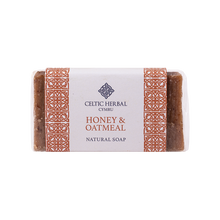 Load image into Gallery viewer, Celtic Herbal - Honey & Oatmeal Soap 100g