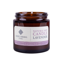 Load image into Gallery viewer, Celtic Herbal - Lavender Natural Soy Candle 100g