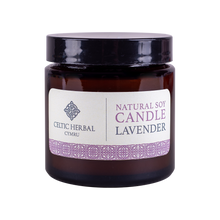 Load image into Gallery viewer, Celtic Herbal - Natural Lavender Soy Candle 100g