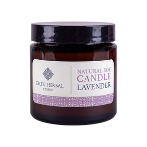 Celtic Herbal - Natural Lavender Soy Candle 100g