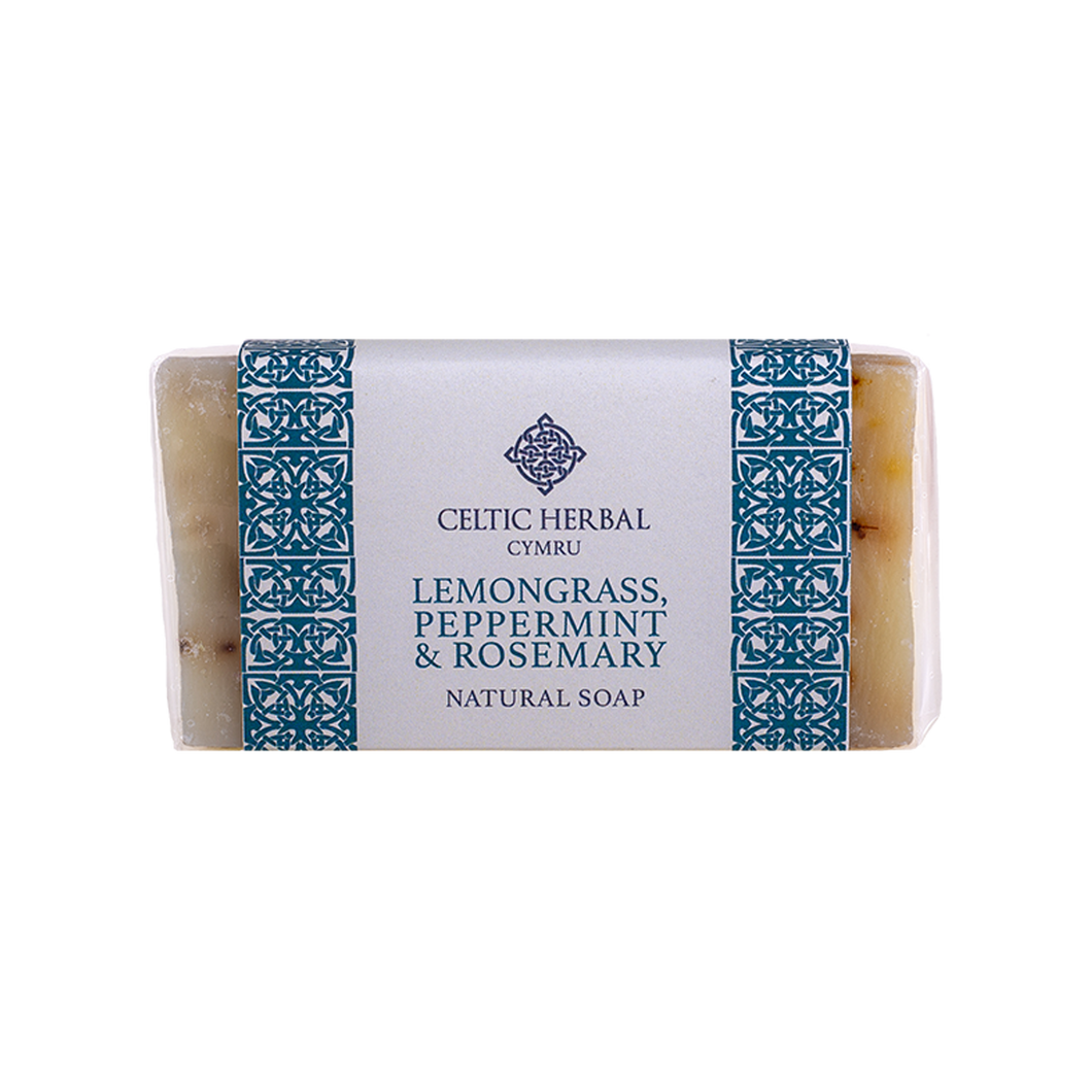 Celtic Herbal - Lemongrass, Peppermint & Rosemary Soap 100g