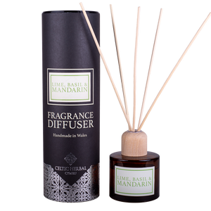 Celtic Herbal - Mandarin, Lime & Basil Reed Diffuser 100ml