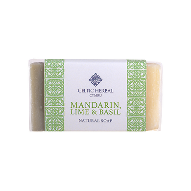 Celtic Herbal - Mandarin, Lime & Basil Soap 100g